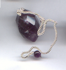 Amethyst grape pendulum