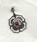 Base Chakra Pendant: click here for larger picture