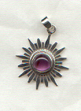 Crown Chakra Pendant: click here for larger picture