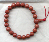 red jasper power bracelet.
