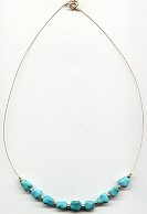 Turquoise Necklace, click for larger picture